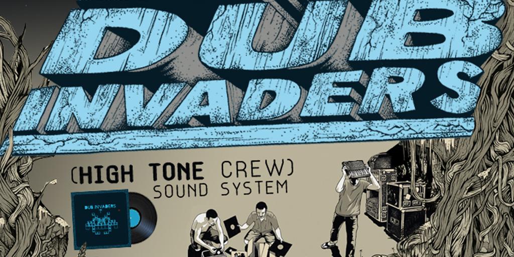 """Le double lp """"Dub Invaders volume 2"""" est disponible depuis lundi."""