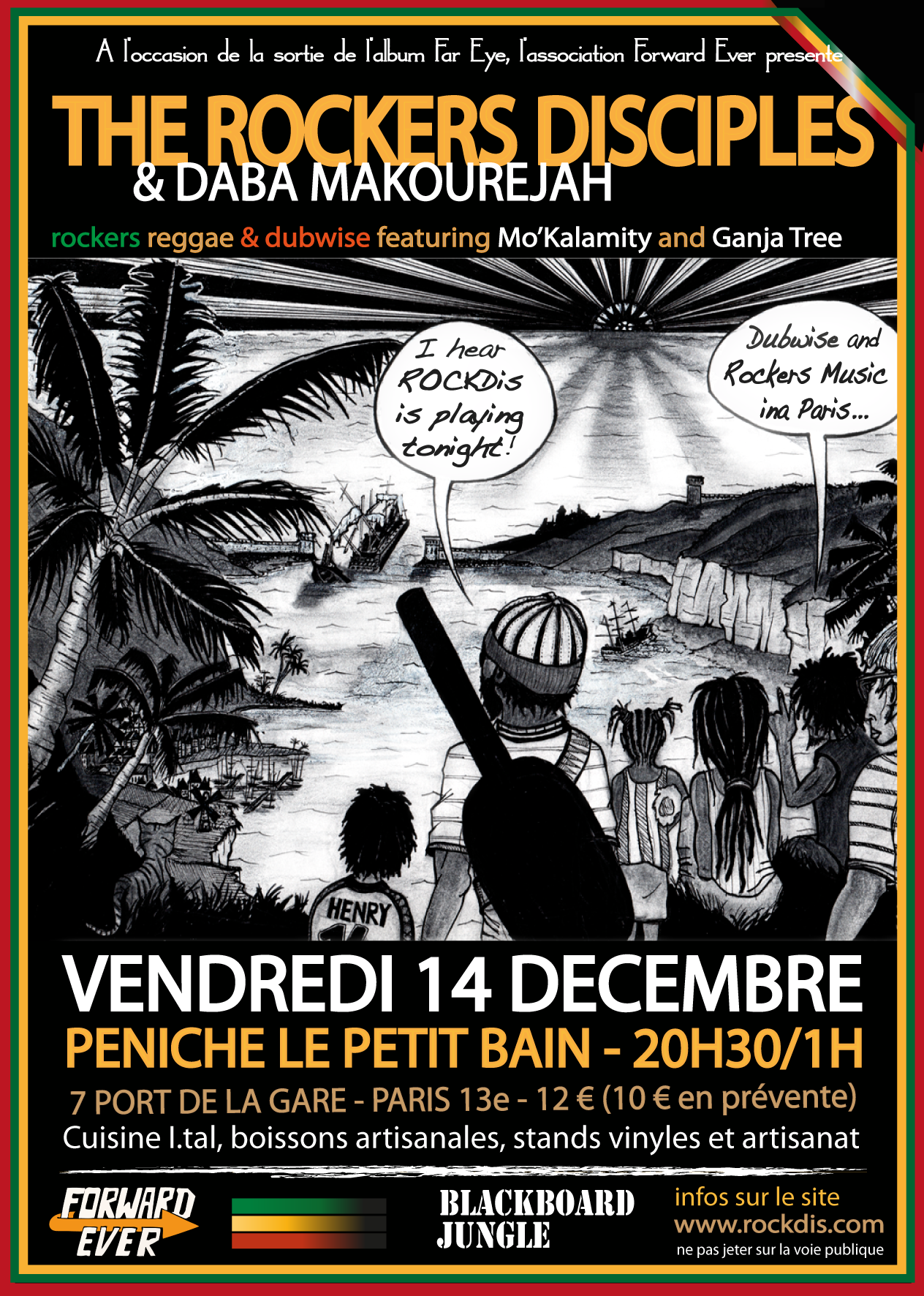 Flyer Concert Paris 14:12:2012