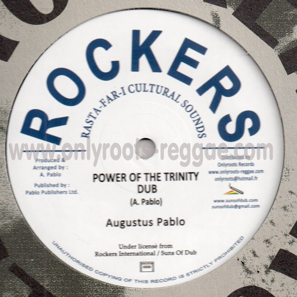 12'' Augustus Pablo - Power of the Trinity & West Abyssinia