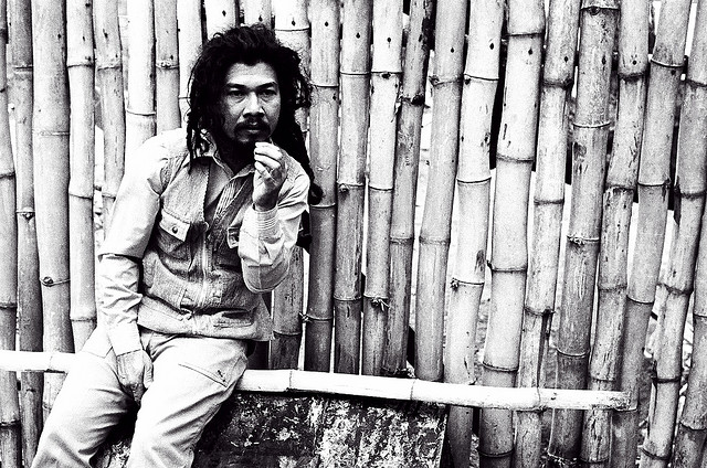 Kingston, 1979 : le chanteur I Kong.