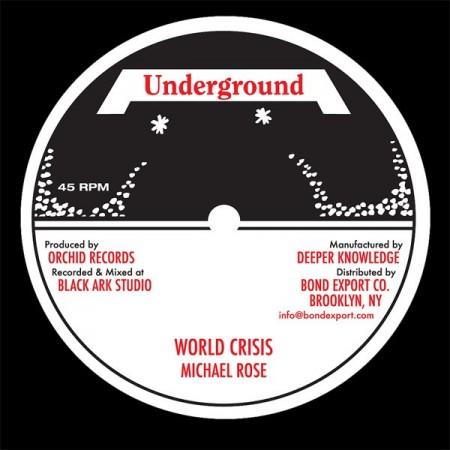 Le disque original sorti à l'époque sur le label Underground.
