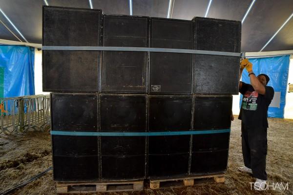 Aba Shanti-I sound system (Londres, Grande-Bretagne).