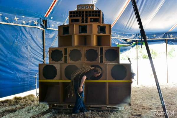 Dub Livity sound system (Caen, France).