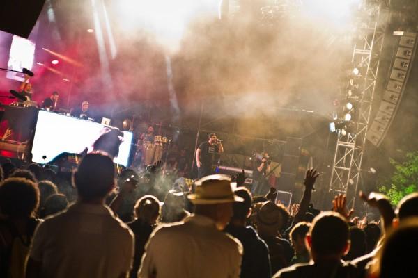 Entre son et lumières, le concert des Chinese Man est un véritable spectacle!