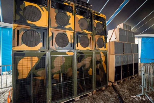 King Earthquake sound system (Birmingham, Grande-Bretagne).