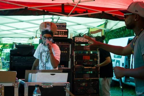 Scee Naphtalidu sound Emperorfari, seul représentant UK du festival!