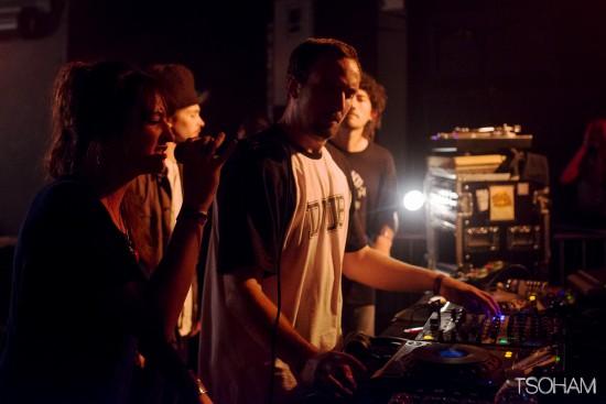 Le duo Romain et Sis I-Leen a donné à entendre quelques nouvelles productions venues directement du Iron Dubz studio!
