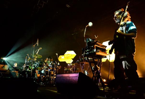 High Tone en concert, à La Paloma de Nîmes, le 21 mars dernier. Crédit photo : Camille Desmé.
