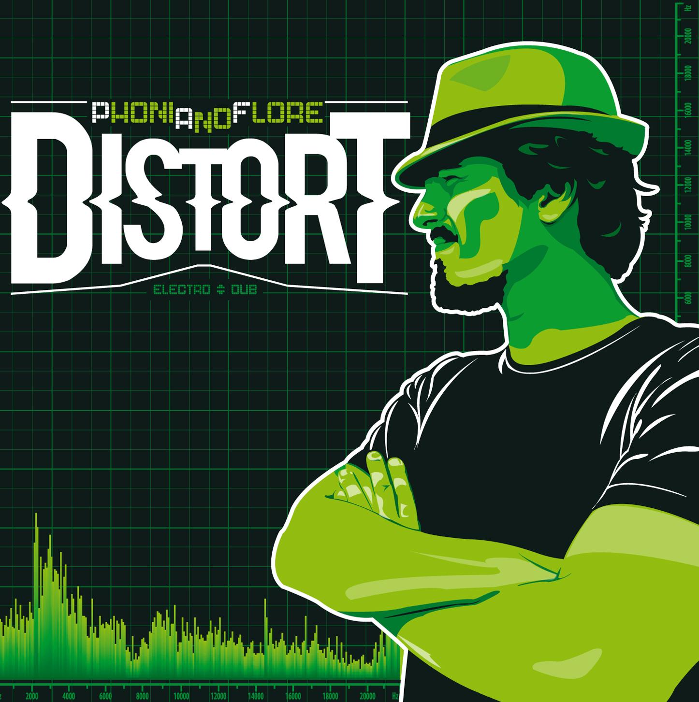 L'album Distort est sorti fin décembre sur le netlabel Marée Bass.