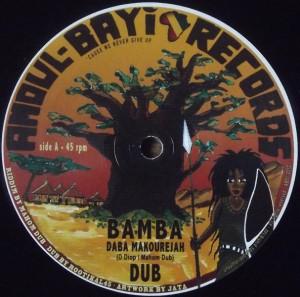 """Le morceau """"Bamba"""" a été composé par Mahom et est sorti sur Amour-Bayi Records."""
