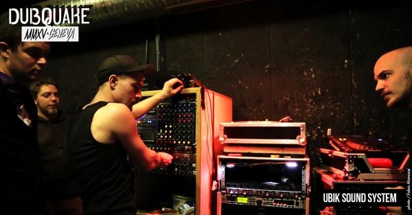 Ubik sound system, sound genevois, sonorisait la Makhno.