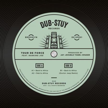 Le vinyle est sorti sur le label Dub Stuy le 31 mars.