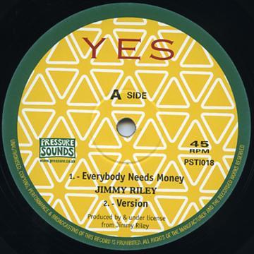 Le vinyle repressé par Pressure Sounds.