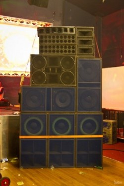 Jah Tubbys sound system.