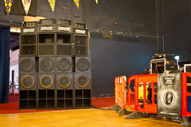 Operation sound system from Blackburn and Preston !