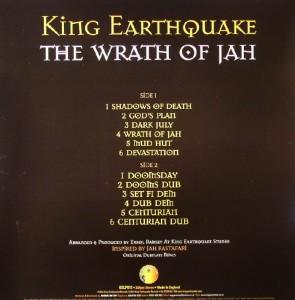 12 titres sur le vinyle comme sur le CD, sortis sur King Eartquake Records et distribués par Reggae on Top.