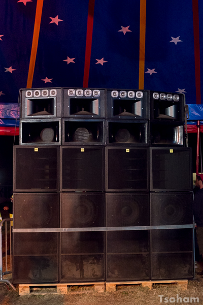 Blackboard Jungle sound system (Rouen, France).
