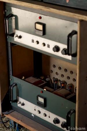 Système d'amplification à lampes.