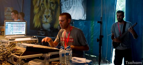 Toujours dans le Dub Club, le producteur rouennais Kanka, a envoyé son stepper martial avec son bassiste, Chris. B !