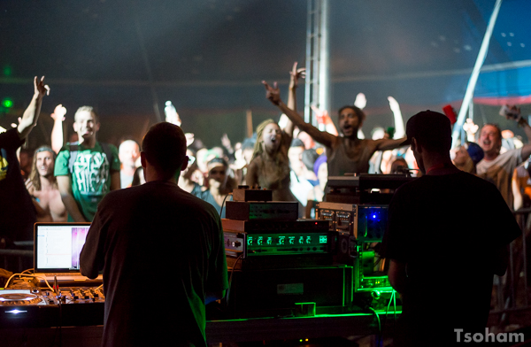 Grosse ambiance dans le Dub Club Arena avec OBF sur la sono de Kürün Positive Bassline! Rico à la sélection et Guillaume, l'opérateur!