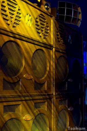La merveille de Axis Valv-A-Tron sound system dans l'Outernational Arena.