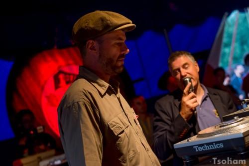 Paul Axis et le chanteur Martin Campbell, deux rootsmen anglais de premier plan!