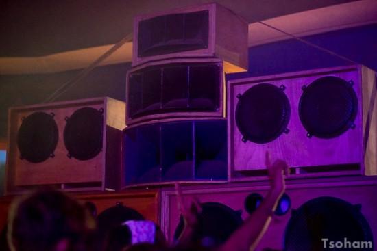 La sono de Jah Marshall est la dernière du festival à fonctionner...