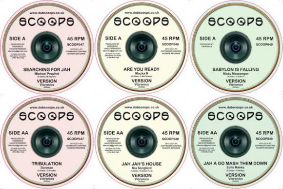 Les trois nouveaux vinyles commencent à peine à arrivers dans les shops.