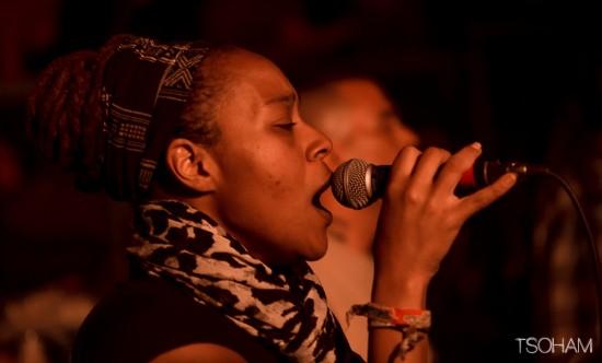 La chanteuse capverdienne, Nish Wadada a fait apprécier la justesse de son chant deux soirées de suite.