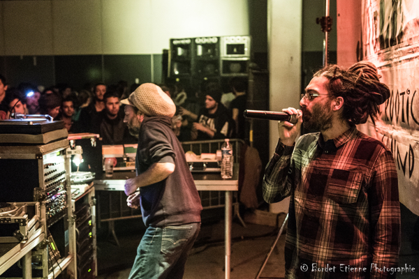 MC Oliva et Nico pour Blackboard Jungle.