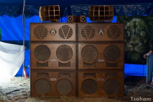 Axis Valv-A-Tron, le sound system le plus atypique de l'édition précédente, qui fonctionne avec des lampes et non des transistors, sera de retour cet été au Dub Camp.