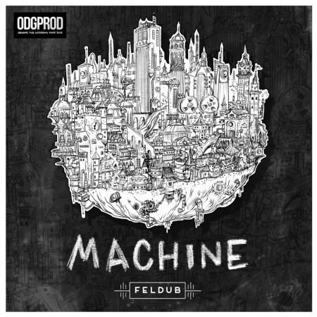 L'album Machine est le troisième des Bordelais de Feldub.