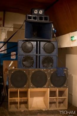 Indy Boca sound system.