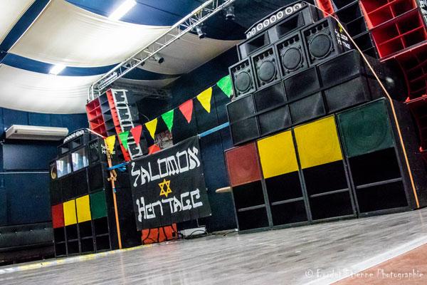 Le sound system de Salomon Heritage pour sonoriser cette danse !