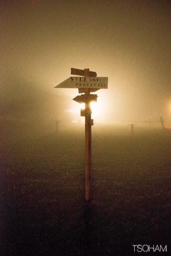La brume s'en mêle pour une visibilité réduite...