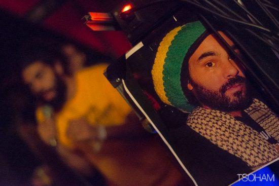 Patrick Anslem, du sound Instrument of Jah, décédé peu de temps auparavant, était honoré.