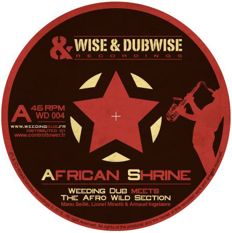 Le 45 Tours est sorti sur le label de Weeding Dub, Wise & Dubwise Recordings.