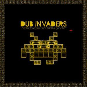 La pochette du premier voulume de Dub Invaders, sorti en 2009 en triple vinyle.