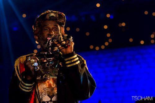 Lee Perry, 80 ans et toujours aussi excentrique.