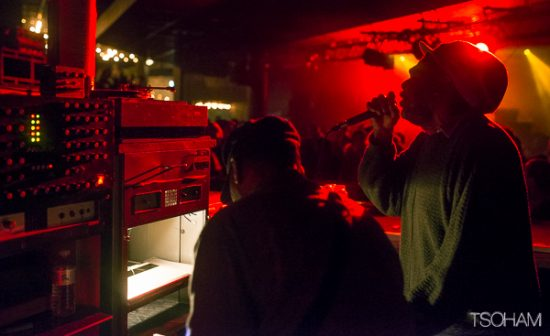 En dernière partie de nuit, ce sont les Anglais de Word Sound & Power qui prennent le contrôle de la danse avec Jimmy Ranks au micro.