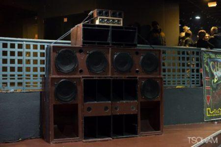 Première pour la sono de Chalice sound system au Trabendo!