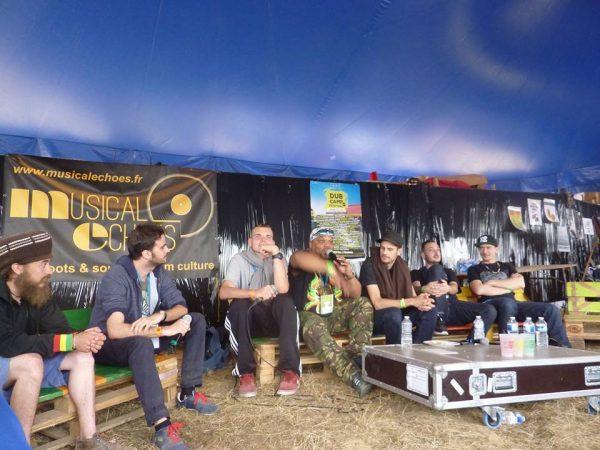 Conférence Dub Camp festival 2016 : « la culture sound system » avec Iration Steppas, O.B.F, Roots Meditation et Roots Powa !