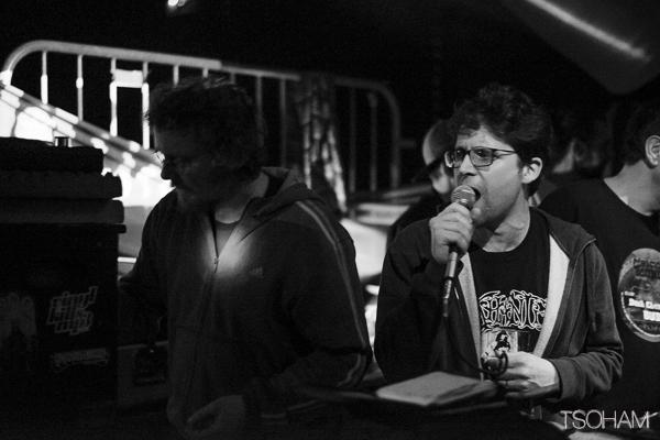 Simon et Flo, les deux membres de Nyabin sound system à l'origine de cette session.