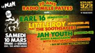 AVEC : EARL 16 (Jam) + LITTLE ROY (Jam) and THE SOOTHSAYERS (UK) + JAH YOUTH (Jam) with full JAH YOUTH SONO + RMP CREW DJ SET Afin de fêter […]