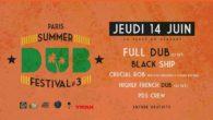 ▬▬▬ SUMMER DUB FESTIVAL #3 ▬▬▬ Soir 1 : Concert d'ouverture gratuit sur LaPlage de Glazart Le Dubber après avoir hiberné en club et s'être nourri de sessions sound system, […]