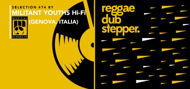 Tous les mois, Musical Echoes vous propose deux sélections 100% vinyles : l'une roots/digital et l'autre reggae/dub/stepper, plus actuelle. Ce mois-ci, et pour la toute première fois, c'est Militant Youths […]